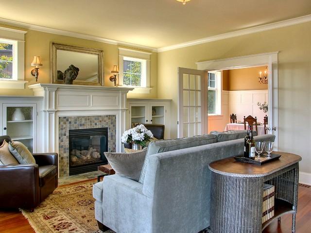 Viewridge Craftsman Spec traditional-living-room