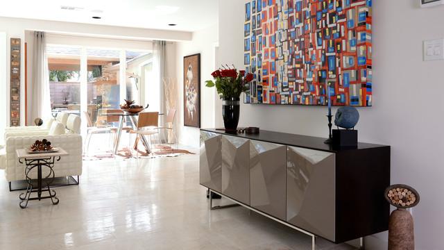 Sandrea Residence Modern Living Room Houston By