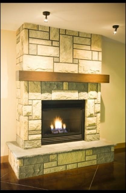 Sandstone traditional-living-room