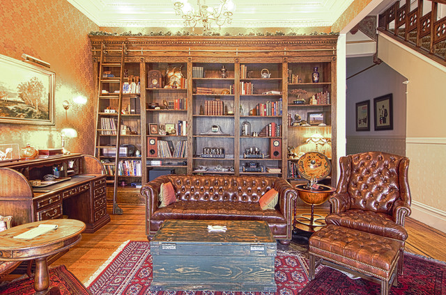 Sanfranvic Victorian Living Room San Francisco By