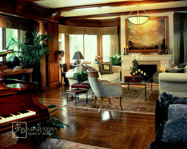 Santa Barbara Craftsman Craftsman Living Room Santa Barbara By Maraya Interior Design