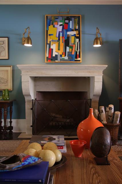 Santa Barbara Design House and Garden modern-living-room