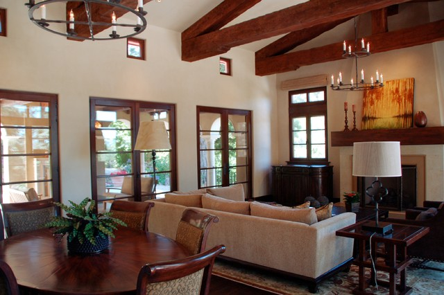 Santa Barbara Mediterranean Style Traditional Living