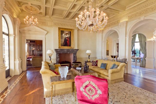 Santa Barbara Residence rustic-living-room