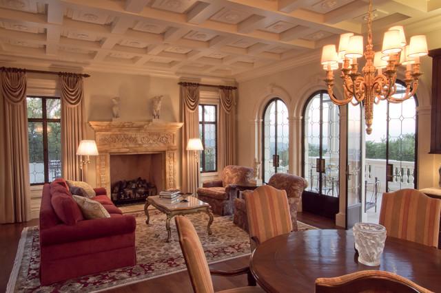 Santa Barbara Residence traditional-living-room