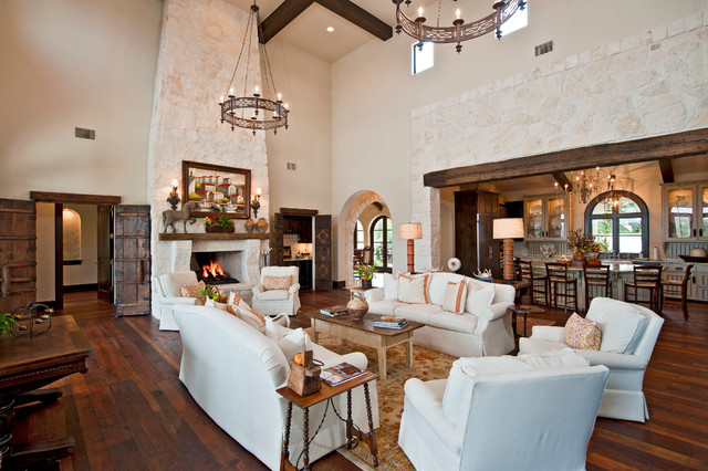 Santa Barbara Style In Austin Mediterranean Living Room Austin on rustic living rooms hgtv