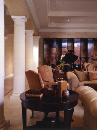 Santa Cruz Residence traditional-living-room