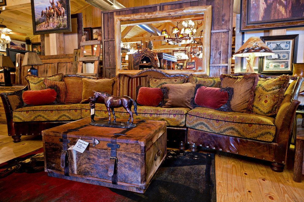 Santa Fe Ranch Western Furniture, Santa Fe Rustic Furniture Collection