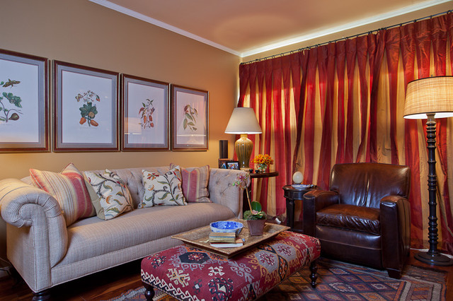 Santa Monica Pied a Terre living-room