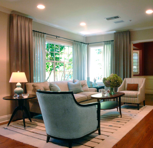 Santa Monica Residence Traditional Living Room Los Angeles By Gregory Roth Design