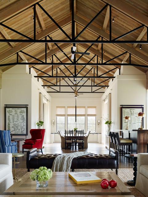 santa rosa residence - transitional - living room - san francisco