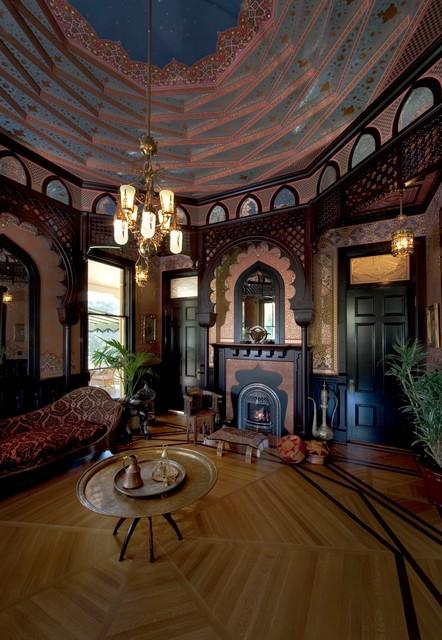 santa rosa stick eastlake traditional living room