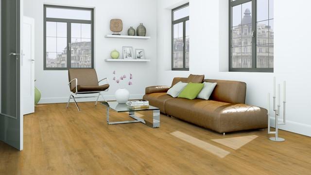 Santal Vinyl Plank Flooring Wood Grain Contemporary Living Room San Diego By Flooret