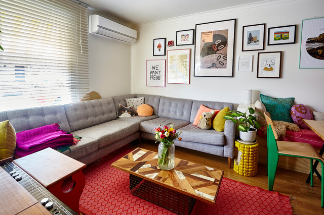 Sarah And Mikes Home Eclectic Living Room Melbourne