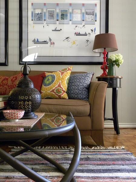 Sarah Greenman eclectic-living-room