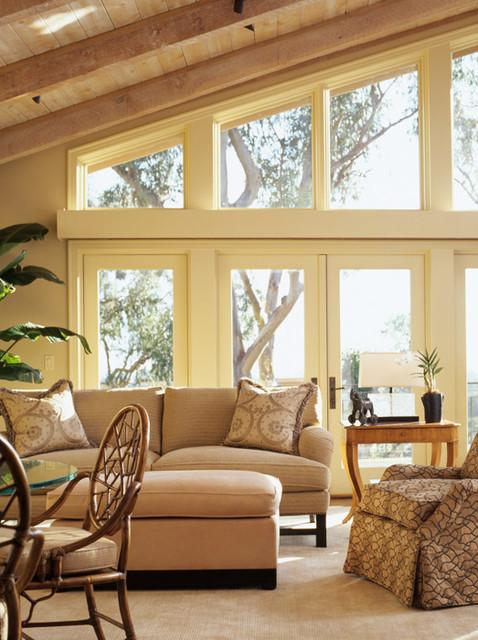 Saratoga Residence I traditional-living-room