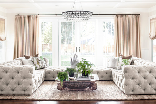 What Coloured Curtains Will Go Well in a White Living Room?