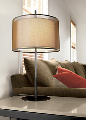 Saturnia Table Lamp by R&B modern-living-room