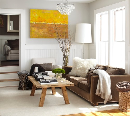 Adam Hunter's Fall decorating tips rustic living room