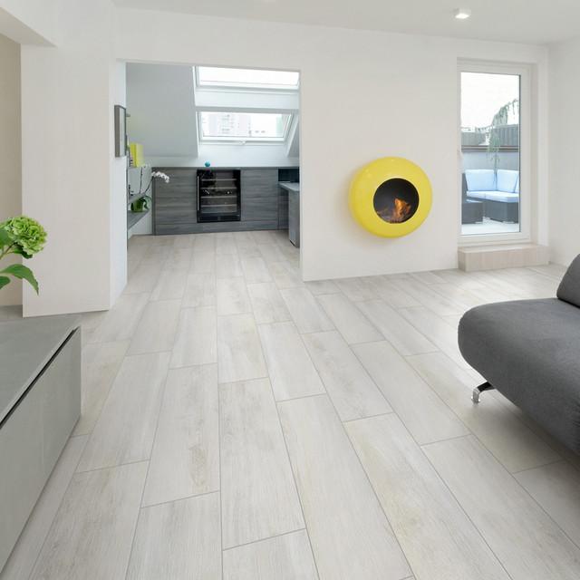 Porcelain Tile Living Room: Sav Wood Bianco Glazed Porcelain