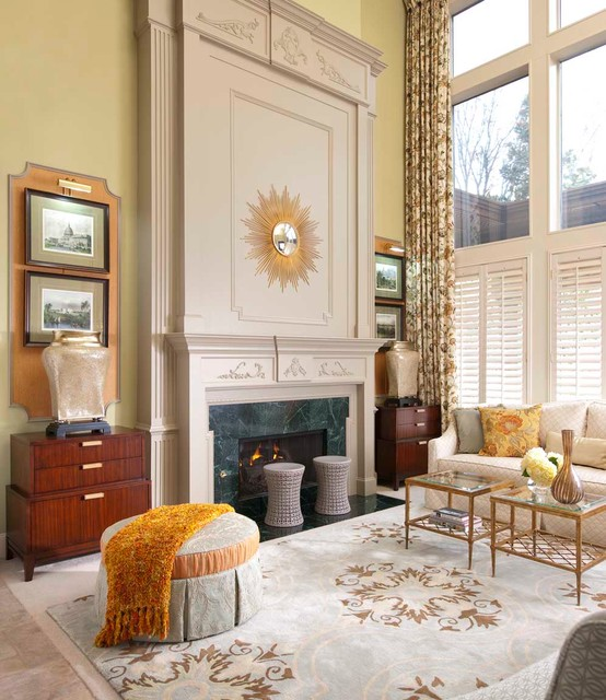 Savannah Court Traditional Living Room Dallas By