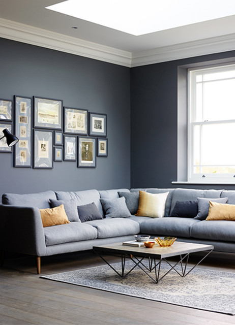 Scandi Inspired Living Room In Shades Of Grey Transitional West Midlands By Period Property Store Houzz Au