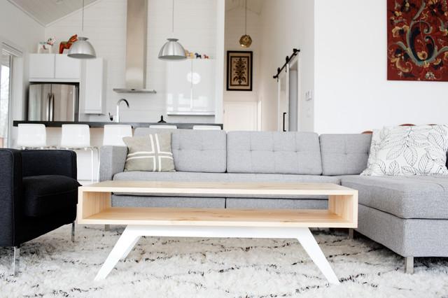 Scandinavian Cabin - Transitional - Living Room - Minneapolis - by ...