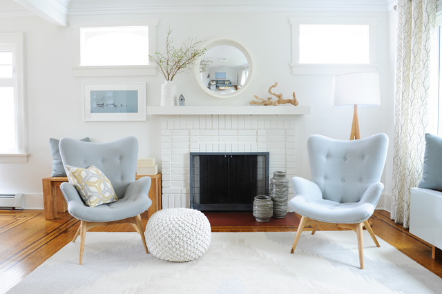 Superb Scandinavian Inspired Family Home Beach Style Living Room Largest Home Design Picture Inspirations Pitcheantrous