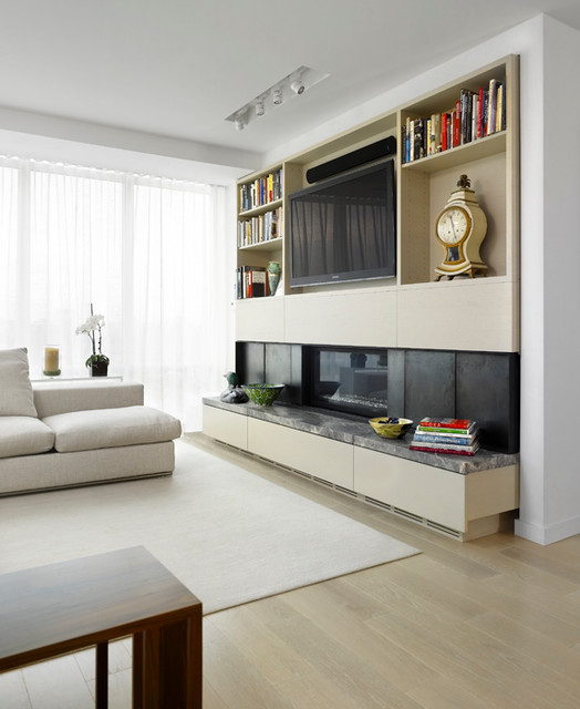 Interior Designers & Decorators. Scandinavian Modern Condominium  scandinavian-living-room
