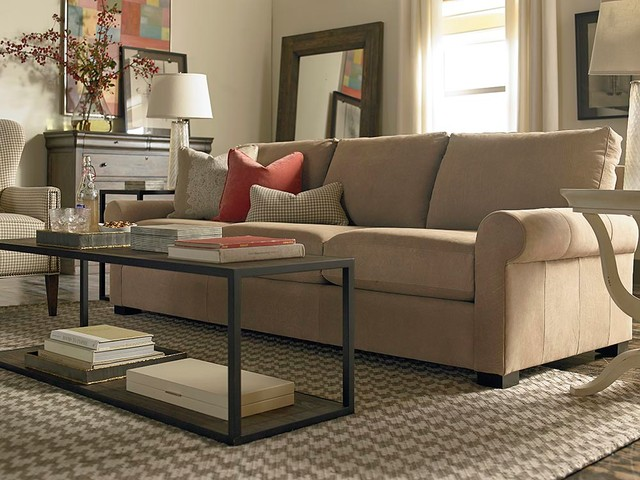 scarborough great room sofa by bassett furniture