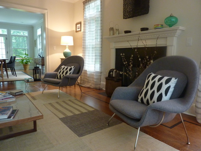 Scarsdale contemporary-living-room