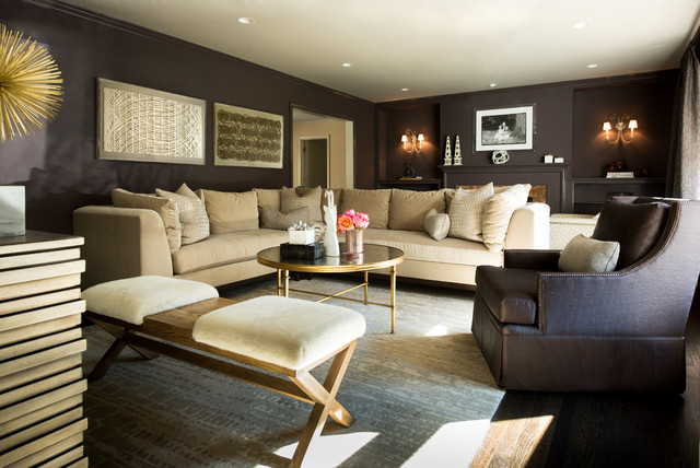 Scarsdale Luxe Living Room Contemporary Living Room