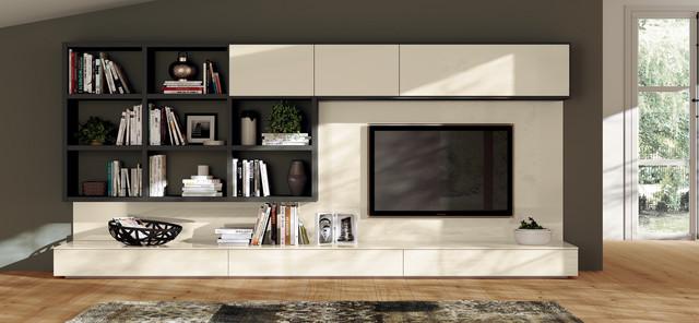 Scavolini 365 modules living room moderne salon - Mobili living scavolini ...