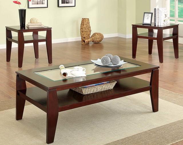 Scott 3 Piece Table Set Contemporary Living Room
