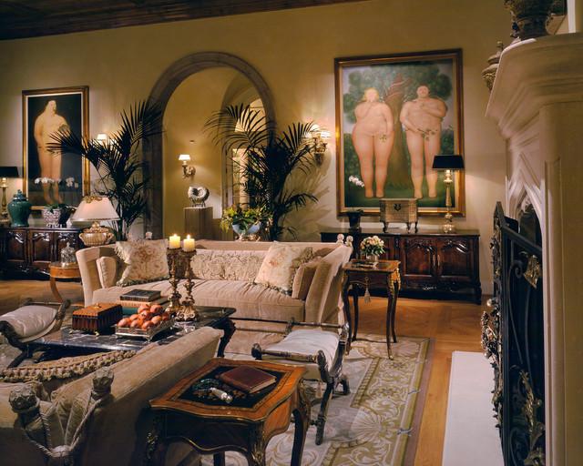 Scottsdale AZ Mediterranean Living Room Other By