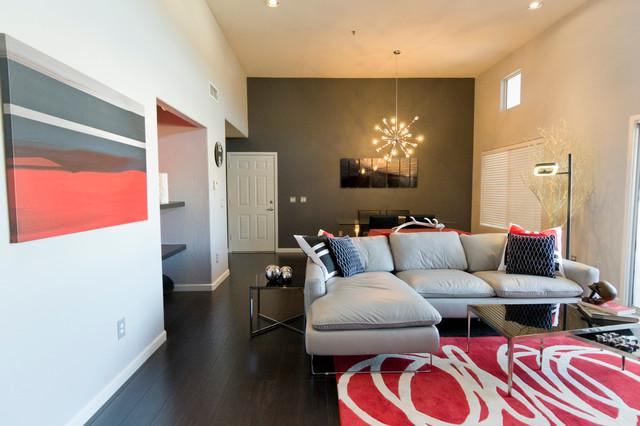 Scottsdale Loft contemporary-living-room