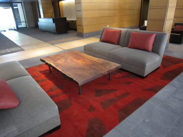 Scribble Ralo Handmade Custom Carpet vegetal Dyes