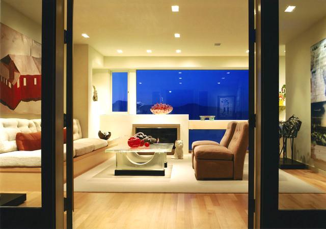 Sea Cliff Home contemporary-living-room