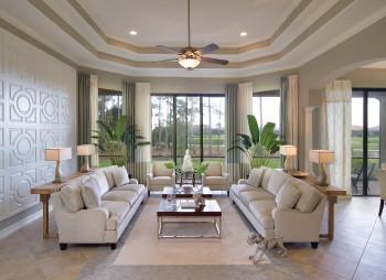 Sea Pine Home, Lely Naples Florida contemporary-living-room