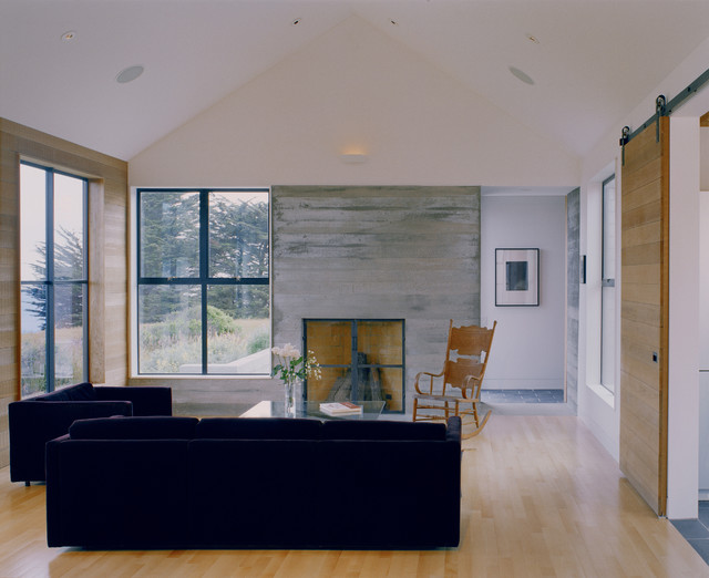 Sea ranch residence contemporary living room san for Nick noyes architecture