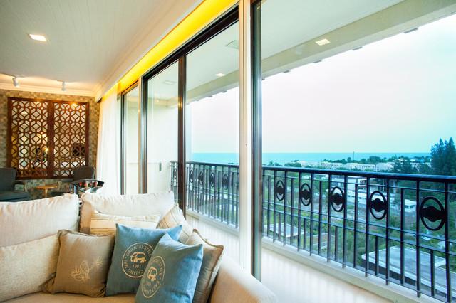 Sea Wind , Marrakesh Residence , Hua Hin contemporary-living-room
