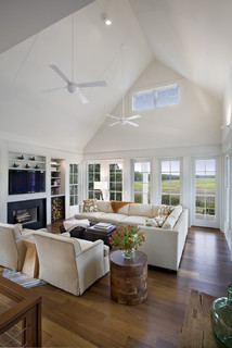 Seabrook Island Contemporary - Contemporary - Living Room - Charleston - by John Clemmer Photography
