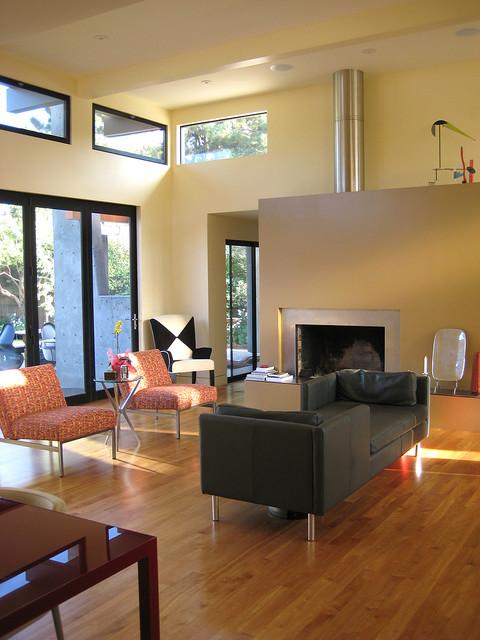 Seamless Integration contemporary-living-room