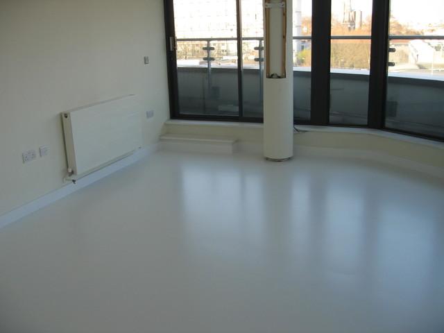 Seamless Poured Liquid Polyurethane Flooring Systems Newcastle Upon