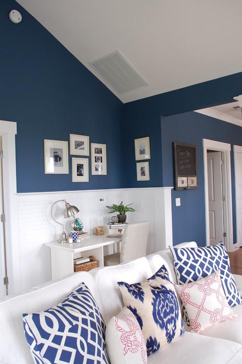 Benjamin Moore Van Deusen Blue Bathroom: Requesting Paint Color Name And Does It Come In Benjamin