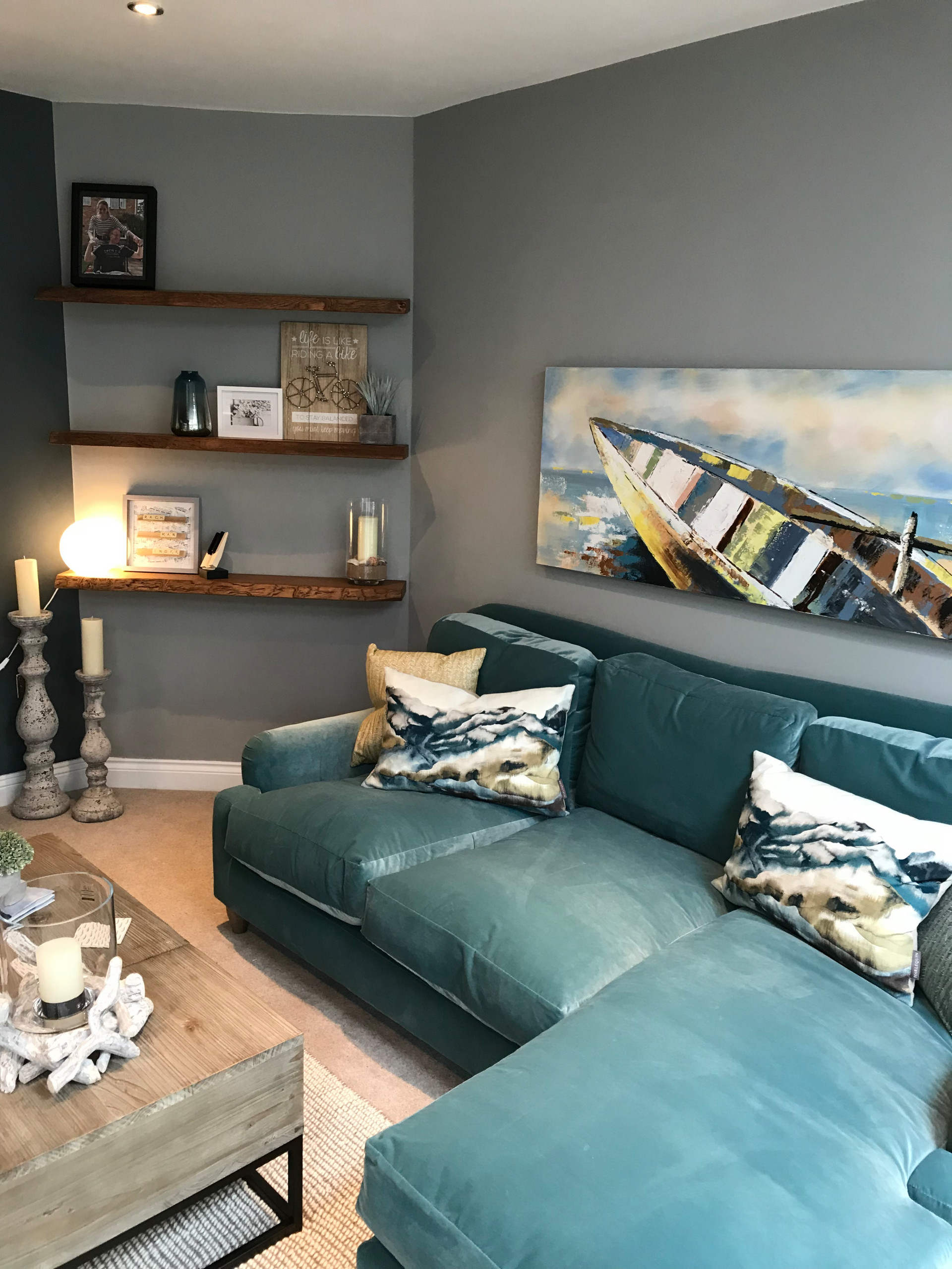 Seaside calm whole house project