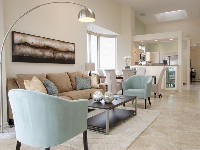 seaside living - Modern - Living Room - Bridgeport - by BA ...