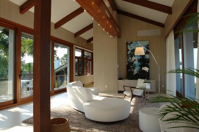 Modern Coastal contemporary-living-room