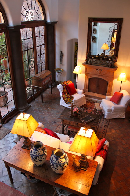 Second home in Mexico!! - Eclectic - Living Room - by CAROLE MEYER
