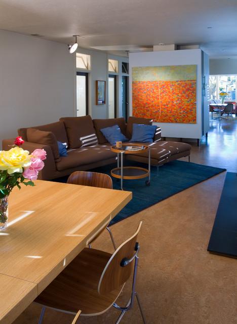 Second Street Green contemporary-living-room